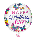 Happy Mother's Day Butterflies ORBZ (16IN) QTY 5