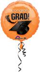 Congrats Grad! ORANGE (18IN) QTY 10