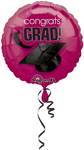 Congrats Grad! BURGUNDY (18IN) QTY 10