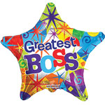 Greatest Boss (18IN) QTY 5