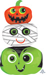 HALLOWEEN HEADS  (36IN) QTY 5