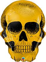 GOLDEN SKULL  (36IN) QTY 5