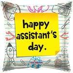 ASSISTANT'S DAY NOTES (18IN) QTY 10