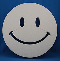 SMILE FACE BASIC (36in x 2 thick) QTY1