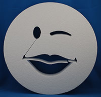 SMILE FACE LIPS (12in x 1½ thick) QTY2