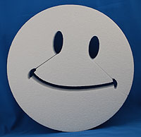 SMILE 2 (12in x 1½ thick) QTY2