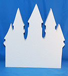 CASTLE (12in x 1½ thick) QTY2