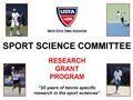 Sport Science Commitee