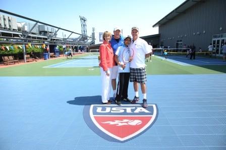 DeckZone Unveiled at National Tennis Center
