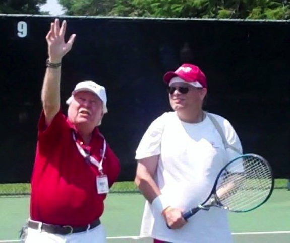 Henry Cox Teaches the Serve