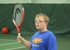 The Jensen-Schmidt Tennis Academy was designed to meet the sport specific needs of children and young adults with Down Syndrome.