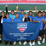 2014 Nationals: 40 & Over 4.0 Champs