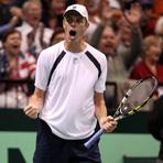 2013 Davis Cup: U.S. vs. Serbia Action