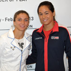 2013 U.S. vs. Italy Fed Cup Draw Ceremony