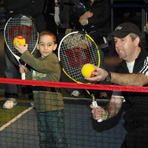 10 and Under Tennis Clinic at the Intrepid