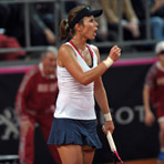 2013 Fed Cup First Round: U.S. vs. Italy