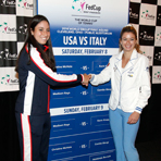 2014 Fed Cup U.S. vs. Italy Draw