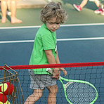Pelham Hosts 10 and Under Tennis Clinic