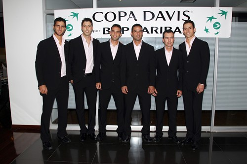 2010 Davis Cup World Group Playoff: USA vs. Columb