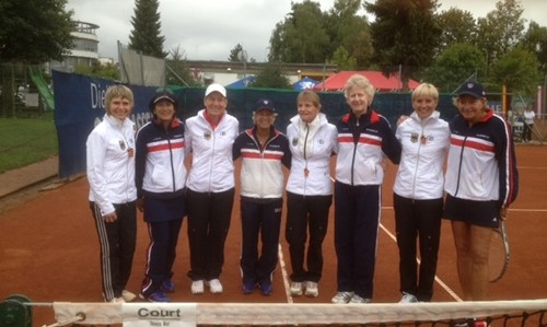 US Alice Marble Team with Germany