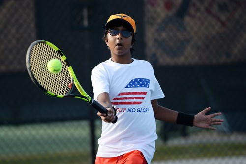 2016 Junior Team Tennis 14U action