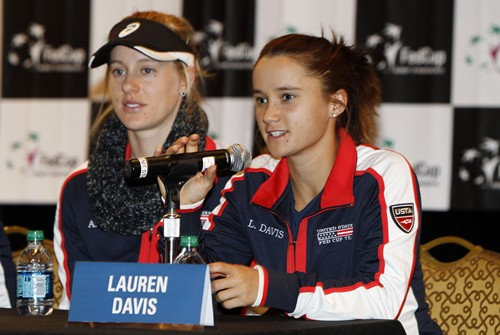 2014 Fed Cup - USA vs. Italy