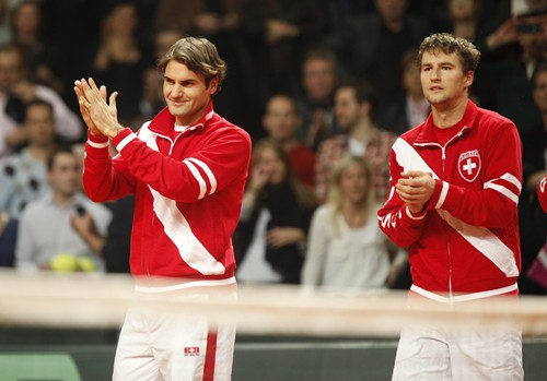 2012 Davis Cup - USA vs. Switzerland Day 3