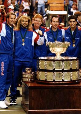 Jim Courier 40th U.S. Davis Cup Captain