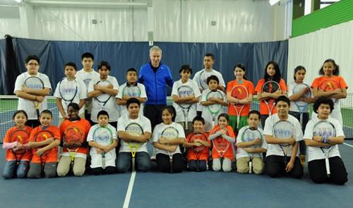 NYJTL Visits John McEnroe Tennis Academy