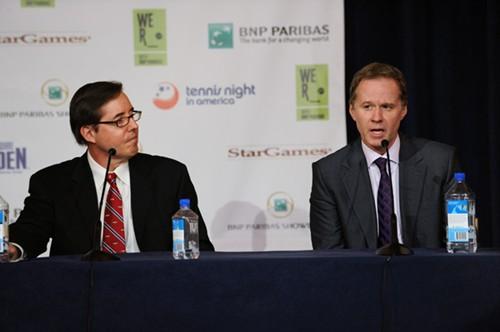 BNP Paribas Showdown press conference