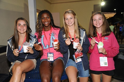 2011 USTA JTT 14U Nationals - Player Party