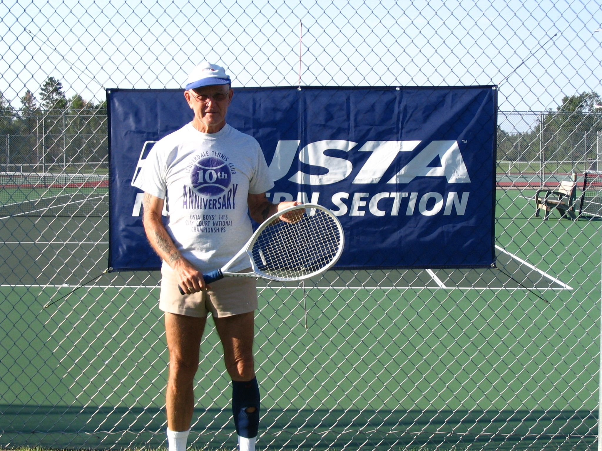 '06 Paul Bunyan Open 65 & Over Men's Singles Champ