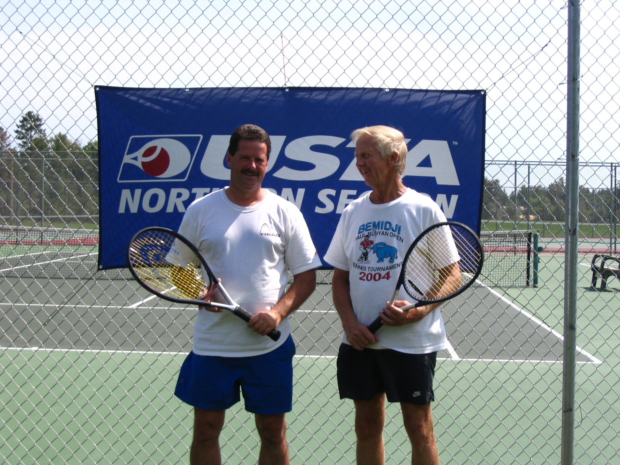 '06 Paul Bunyan Open 4.0 & Above Men's Doubles Champs