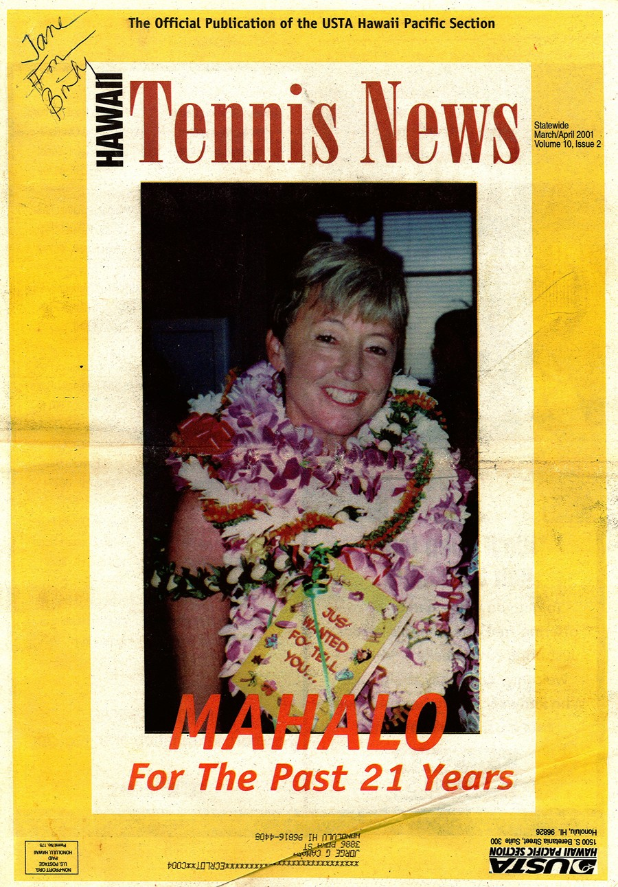 Hawaii Tennis News COVER