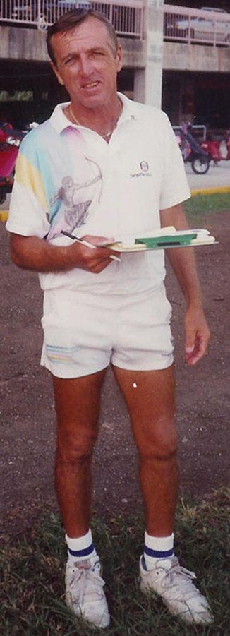 Coach Jim Schwitters