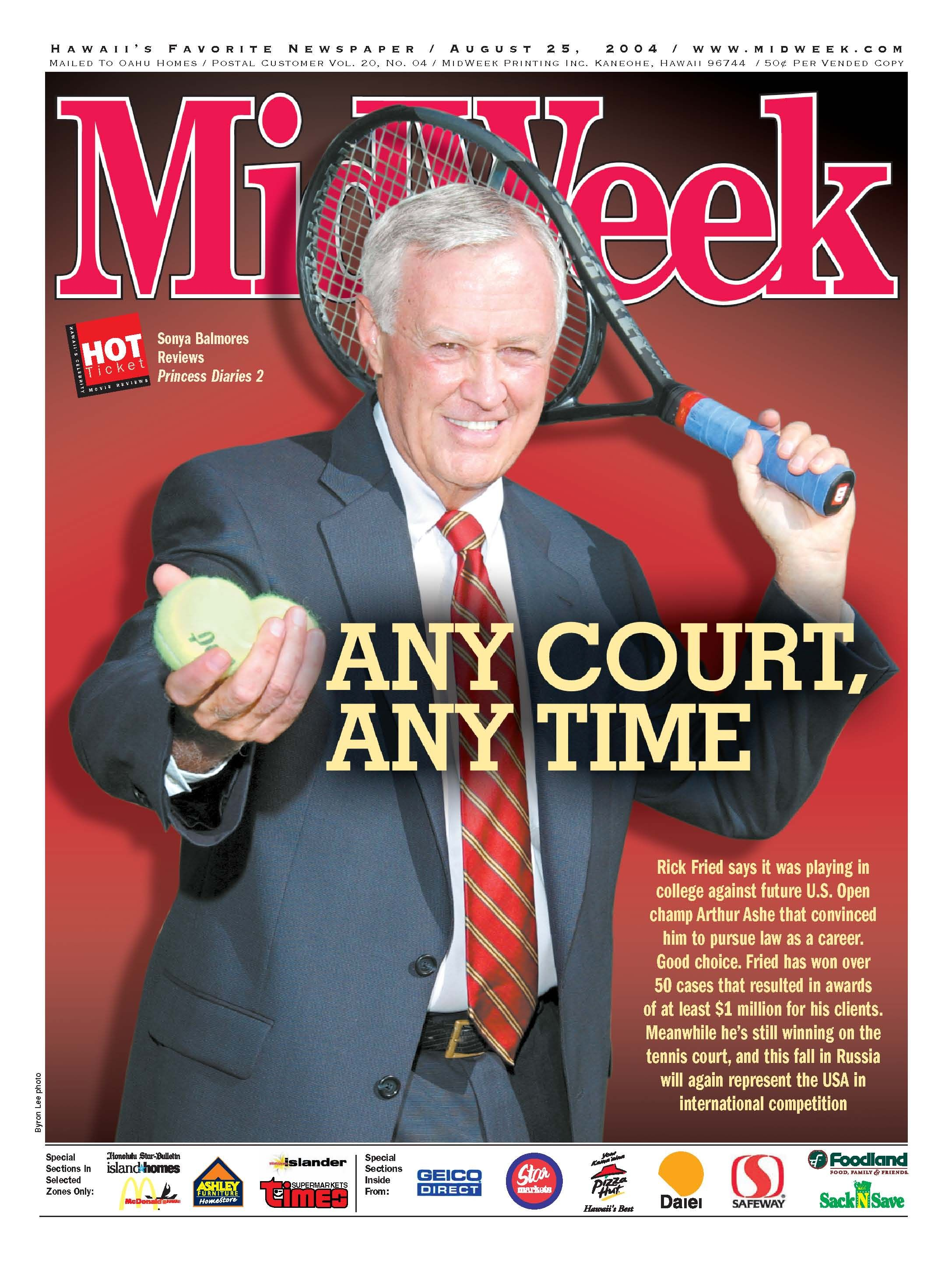 Rick on MIdWeek cover