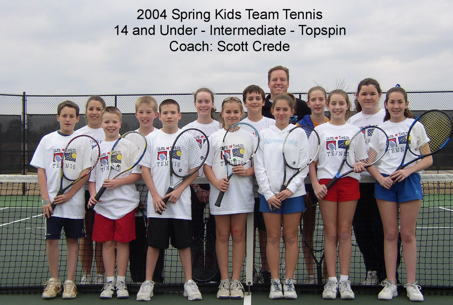 14 and Under - Intermediate - Coach Scott Crede