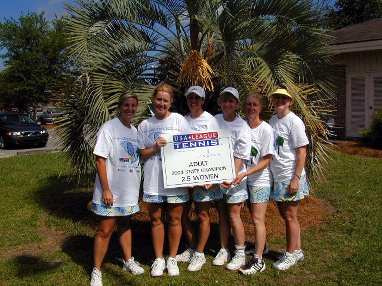 2.5 Adult Womens winners 2004
