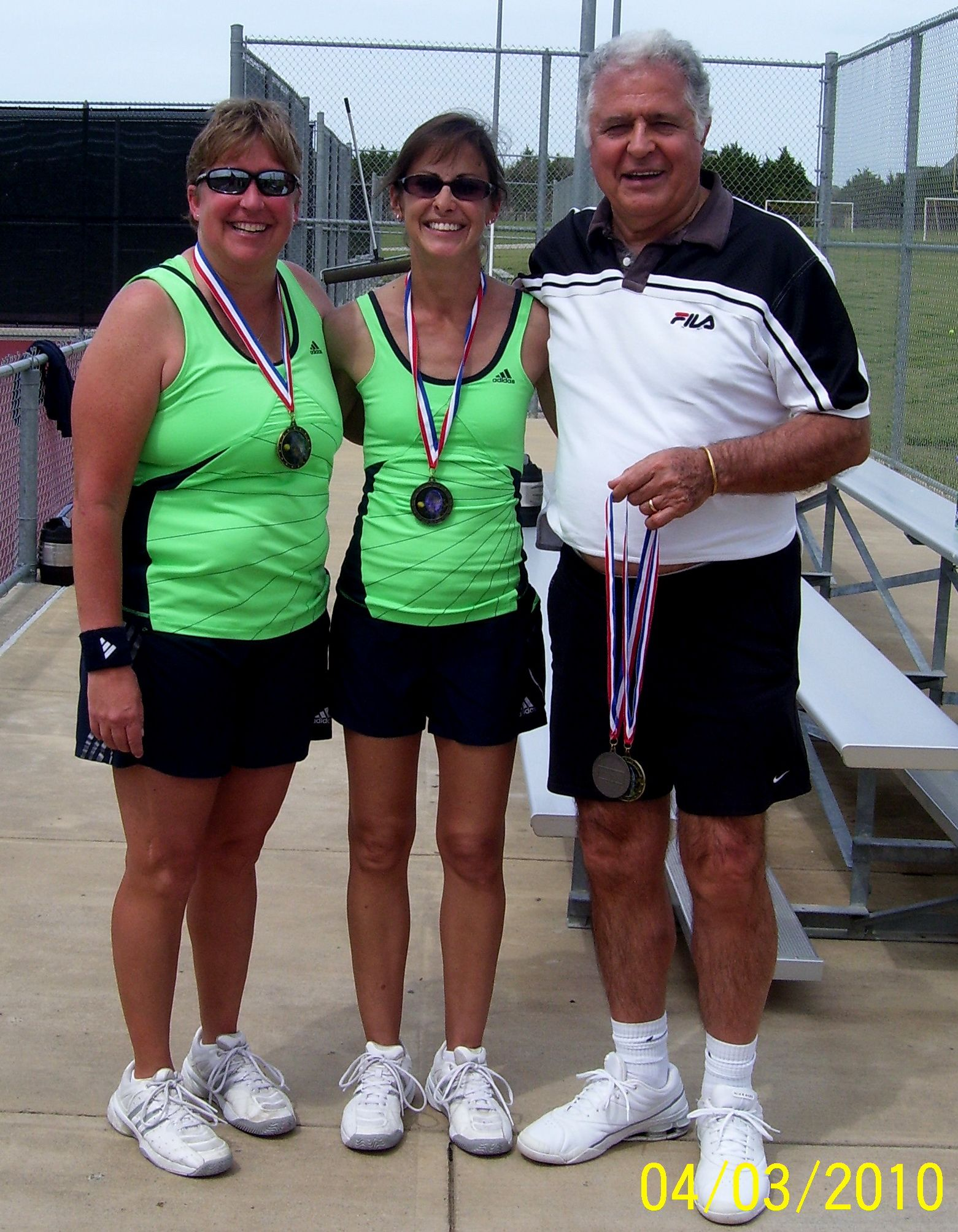 Easter Tournament 2010 - Women's First Place Winners