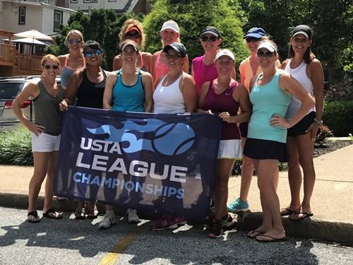 2017 18  Womens 4.0 Champions