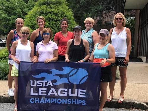 2017 18  Womens 4.5 Champions