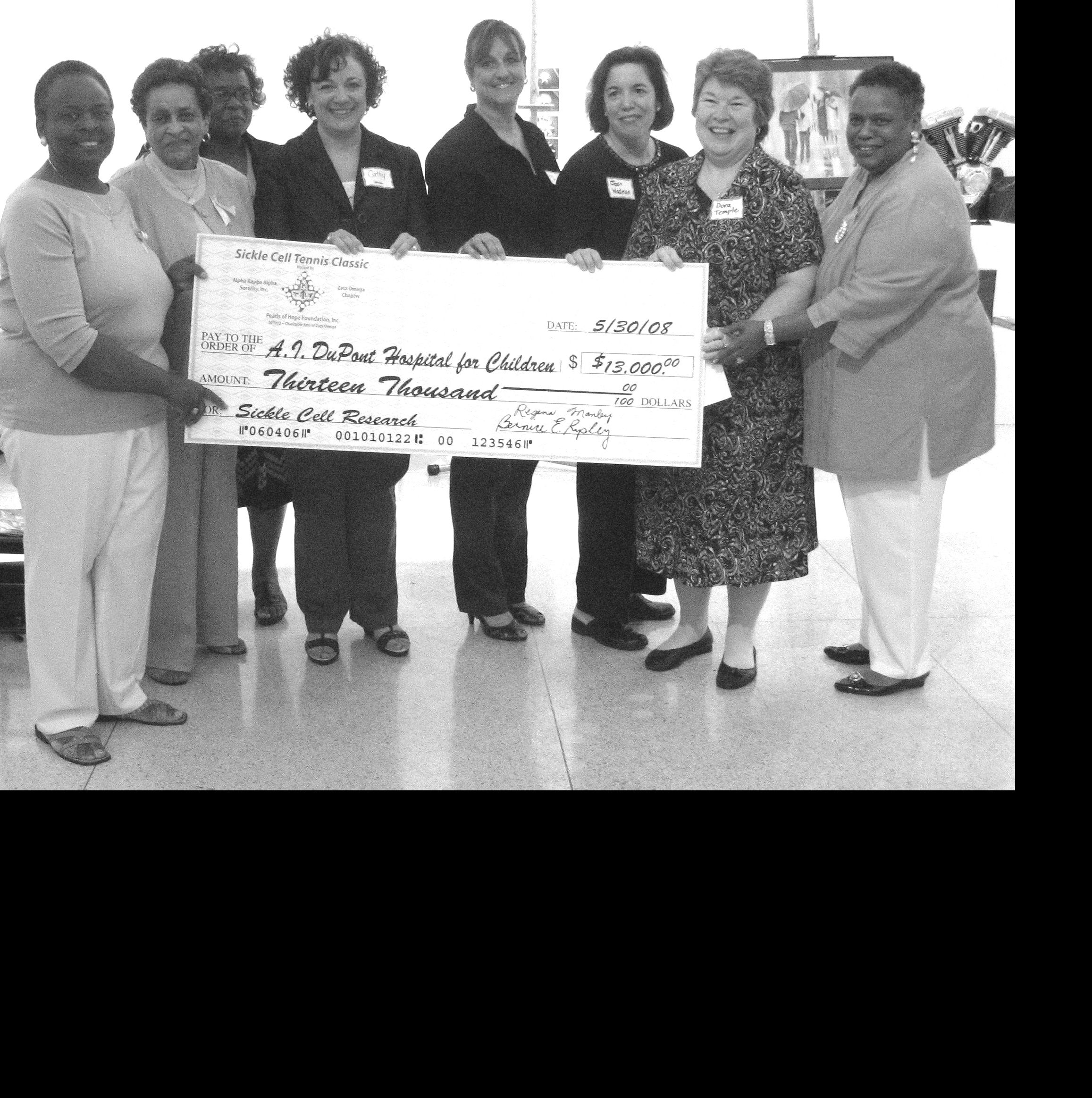 2007 Sickle Cell Tournament donates $13,000