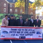 Dedication of Tennis Courts-Northport VA Hospital