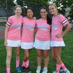 Nassau Girls Wear Pink for Breast Cancer Awareness