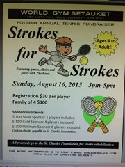 4th Annual Strokes for Strokes Fundraiser