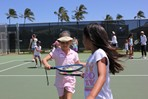 Koloa Plantation Days Kids Tennis Fun