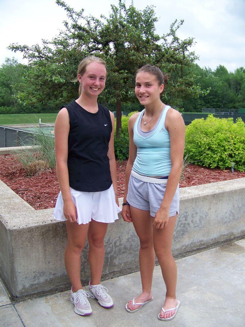 Katie Close and Janelle Prisner