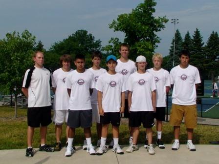 Boys' 18 District Cup team