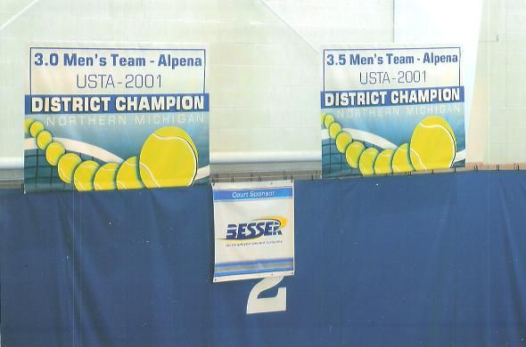Alpena Courts and Banners