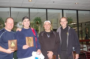 2009 The Bob 7.5 Men's on left Champions Mark Fischer & Paul Wieland on right Finalists Branko Gegich & J.P. Milliken